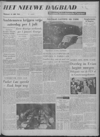 Nieuwe Schiedamsche Courant 1961-05-19