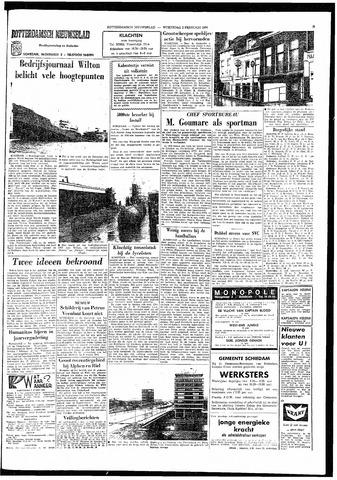 Rotterdamsch Nieuwsblad / Schiedamsche Courant / Rotterdams Dagblad / Waterweg / Algemeen Dagblad 1966-02-02
