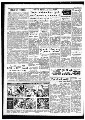 Rotterdamsch Parool / De Schiedammer 1957-06-25