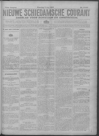 Nieuwe Schiedamsche Courant 1929-06-03