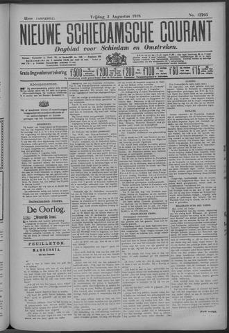 Nieuwe Schiedamsche Courant 1918-08-02