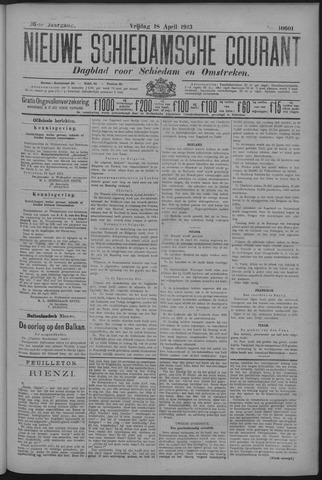 Nieuwe Schiedamsche Courant 1913-04-18