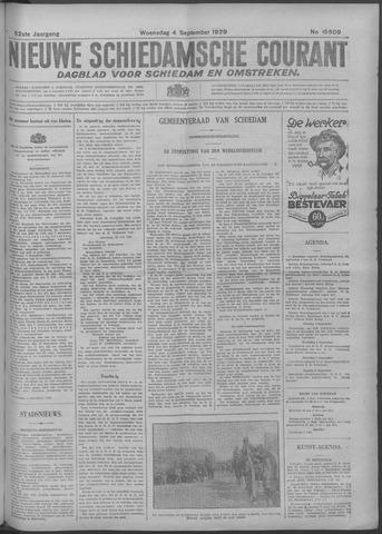 Nieuwe Schiedamsche Courant 1929-09-04