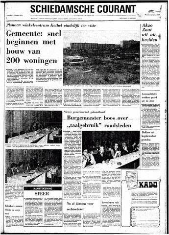 Rotterdamsch Nieuwsblad / Schiedamsche Courant / Rotterdams Dagblad / Waterweg / Algemeen Dagblad 1974-09-04