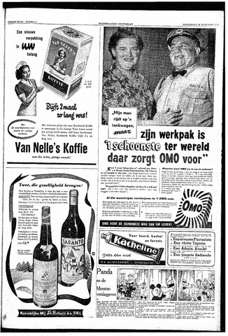 Rotterdamsch Nieuwsblad / Schiedamsche Courant / Rotterdams Dagblad / Waterweg / Algemeen Dagblad 1953-11-26