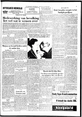 Rotterdamsch Nieuwsblad / Schiedamsche Courant / Rotterdams Dagblad / Waterweg / Algemeen Dagblad 1966-01-24