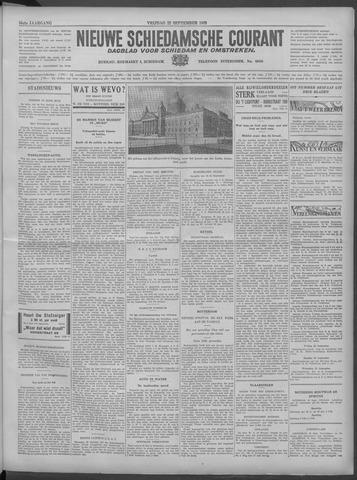Nieuwe Schiedamsche Courant 1933-09-22