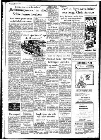 Rotterdamsch Parool / De Schiedammer 1961-08-23