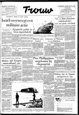 Trouw / De Rotterdammer 1957-03-18