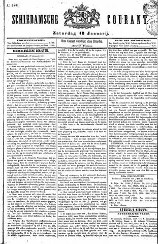 Schiedamsche Courant 1851-01-18