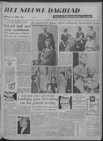 Nieuwe Schiedamsche Courant 1962-04-24