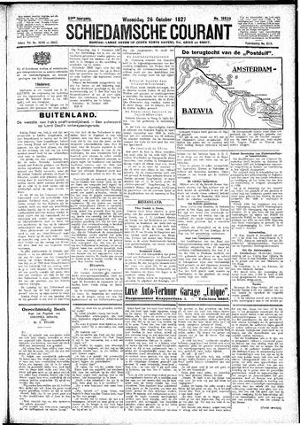 Schiedamsche Courant 1927-10-26