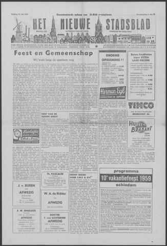 Het Nieuwe Stadsblad 1959-07-31