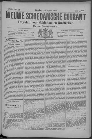 Nieuwe Schiedamsche Courant 1897-04-25
