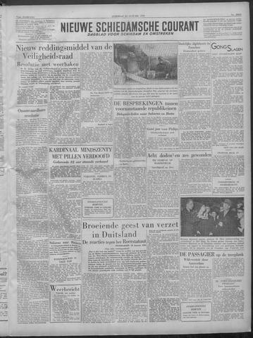 Nieuwe Schiedamsche Courant 1949-01-22