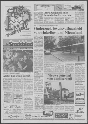 Het Nieuwe Stadsblad 1991-06-21