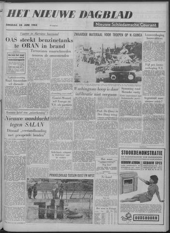 Nieuwe Schiedamsche Courant 1962-06-26
