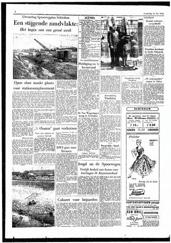 Rotterdamsch Parool / De Schiedammer 1955-05-26