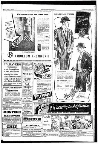 Rotterdamsch Nieuwsblad / Schiedamsche Courant / Rotterdams Dagblad / Waterweg / Algemeen Dagblad 1953-04-04
