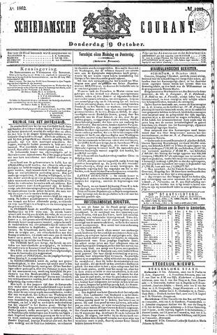 Schiedamsche Courant 1862-10-09