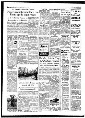 Rotterdamsch Parool / De Schiedammer 1955-08-22
