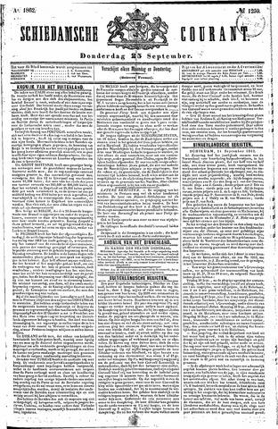 Schiedamsche Courant 1862-09-25