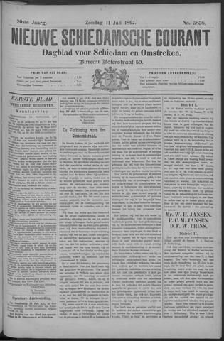Nieuwe Schiedamsche Courant 1897-07-11