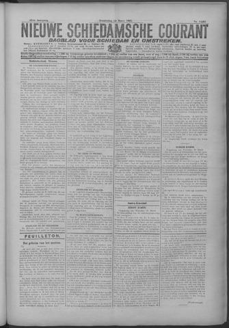 Nieuwe Schiedamsche Courant 1925-03-19