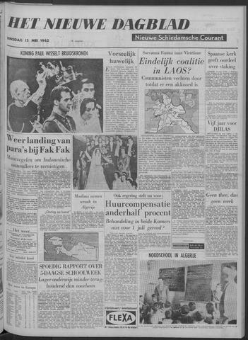 Nieuwe Schiedamsche Courant 1962-05-15