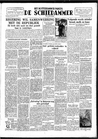 Rotterdamsch Parool / De Schiedammer 1947-09-23