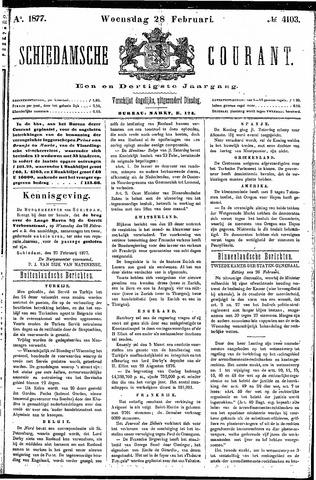Schiedamsche Courant 1877-02-28