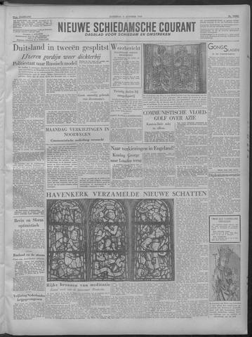 Nieuwe Schiedamsche Courant 1949-10-08