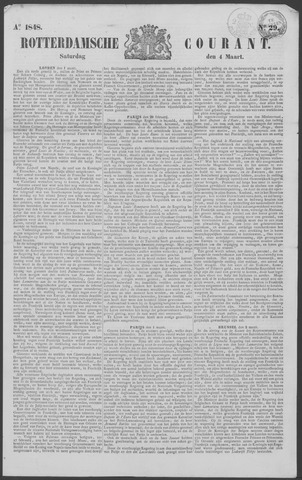 Rotterdamse Courant 1848-03-04