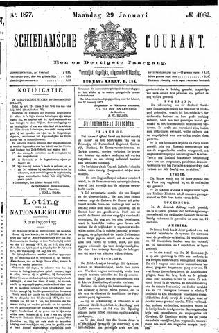 Schiedamsche Courant 1877-01-29