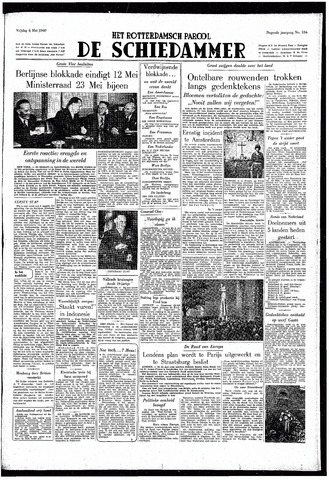 Rotterdamsch Parool / De Schiedammer 1949-05-06