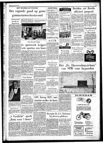 Rotterdamsch Parool / De Schiedammer 1962-04-09