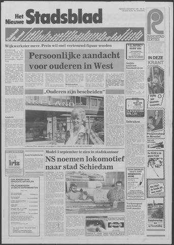 Het Nieuwe Stadsblad 1985-08-09