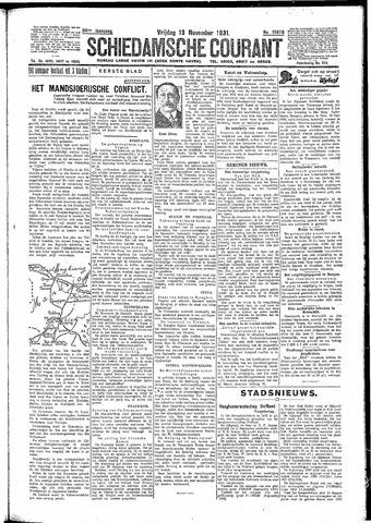 Schiedamsche Courant 1931-11-13