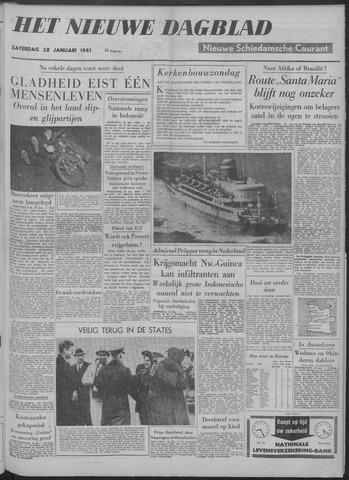 Nieuwe Schiedamsche Courant 1961-01-28