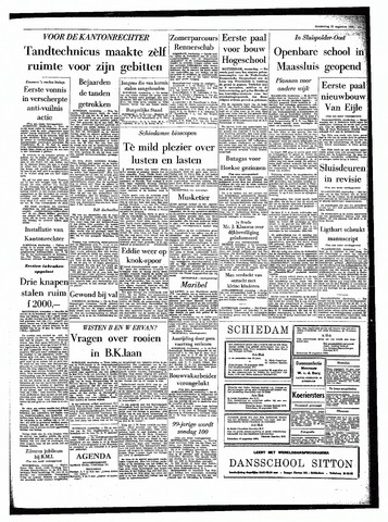 Rotterdamsch Parool / De Schiedammer 1964-08-20