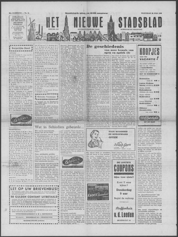 Het Nieuwe Stadsblad 1953-07-22