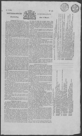 Rotterdamse Courant 1836-03-03