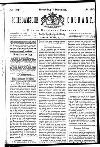 Schiedamsche Courant 1879-12-03