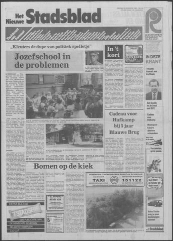 Het Nieuwe Stadsblad 1985-08-30