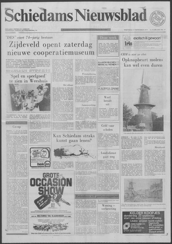 Schiedams Nieuwsblad 1977-09-21