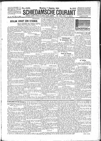Schiedamsche Courant 1933-08-07
