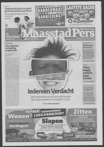 Maaspost / Maasstad / Maasstad Pers 2010-08-25