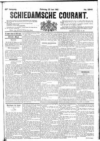 Schiedamsche Courant 1912-06-22