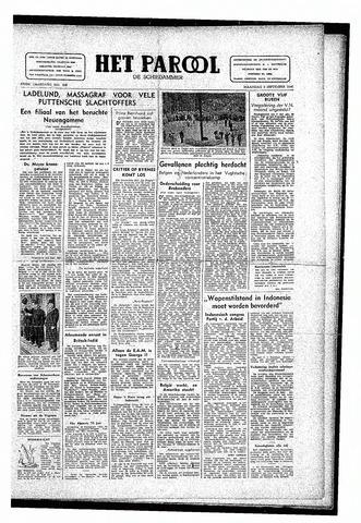 Rotterdamsch Parool / De Schiedammer 1946-09-09