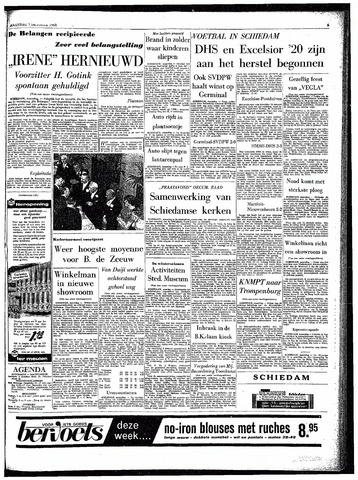 Rotterdamsch Parool / De Schiedammer 1963-10-07